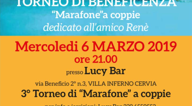 Torneo di beneficenza