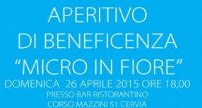 Aperitivo di Beneficenza – Micro in Fiore